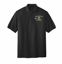 Adult Silk Touch Polo, Black