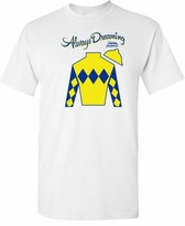 Always Dreaming Preakness 142 T-Shirt White