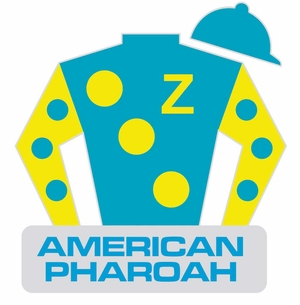 American Pharoah Lapel Pin