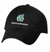 American Pharoah Silks Cap, Unstructured, Black