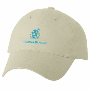 American Pharoah Silks Cap, Unstructured, Stone