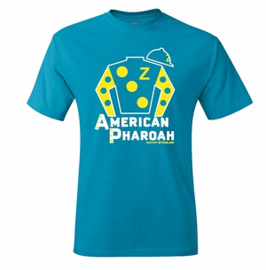 American Pharoah Silks T-Shirt, Teal