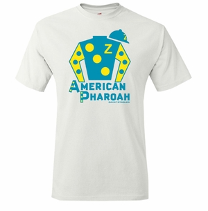American Pharoah Silks T-Shirt, White