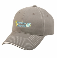 American Pharoah Triad Cap, Charcoal/White