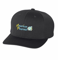 "American Pharoah Triad Cap, ""Fitted"" Black"