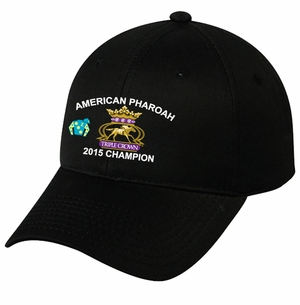 American Pharoah Triple Crown Cap, Black