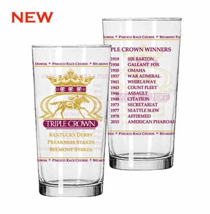 2015 Triple Crown Glass 2 Pack