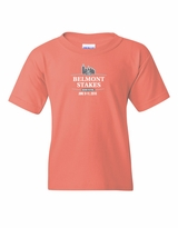 Belmont 148 Youth Event Logo Tonal, Coral Silk