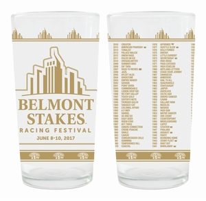 Belmont 149 22K Gold  Ltd Ed Collector's Glass