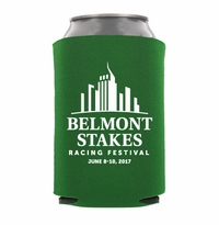 Belmont 149 Can Koozie, Collapsible, Green