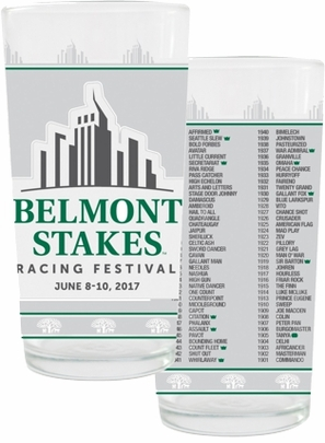Belmont 149 Collector's Glass, 2 pack