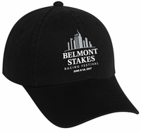 Belmont 149 Washed Cap, Black