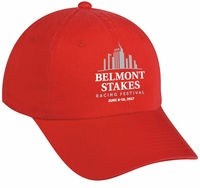 Belmont 149 Washed Cap, Red