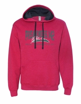Collegiate Hooded Sweatshirt Brick Heather