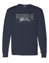 Collegiate Long Sleeve T-Shirt Navy