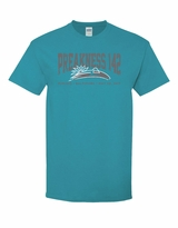 Collegiate T-Shirt Tropical Blue
