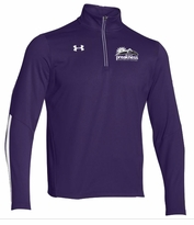 Event Logo Under Armour 1/4 Zip Qualifier Pullover Purple/White