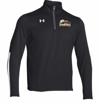 Event Logo Under Armour 1/4 Zip Qualifier Pullover Black/White