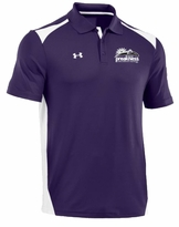 Under Armour Team CB Performance Polo Purple/White