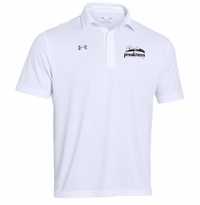 Under Armour Team Rival Performance Polo White