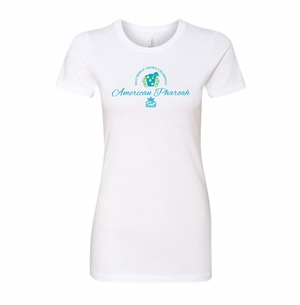 Ladies Next Level T.C. Script Champion Tee, White