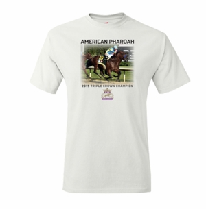 Photo Triple Crown Champion T-Shirt, White