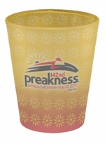 Preakness 142 Shot Glass 2 oz., Frosted