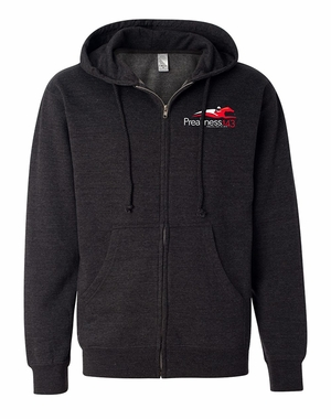 Preakness 143 Event Logo Full Zip Sweatshirt, Charcoal Heather