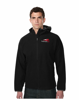 Preakness 143 Men�s Event Logo Cavern Hooded Fleece, Black