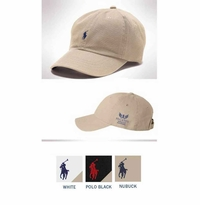 PWCI 2017 Ralph Lauren Chino Baseball Cap, Polo Black