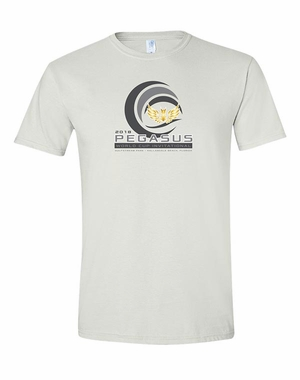 PWCI 2018 EVENT LOGO ADULT T-SHIRT, WHITE