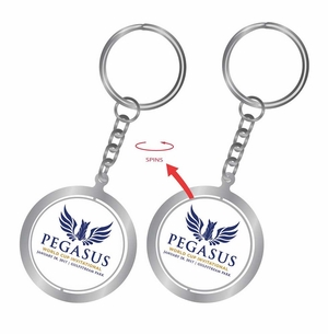 PWCI OFFICIAL LOGO SPINNER KEY RING