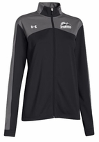 Under Armour Ladies� Futbolista Full Zip Jacket, Black/Grey