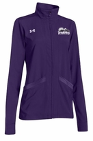Under Armour Ladies� Pregame Full Zip Jacket, Purple/White