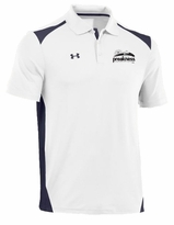 Under Armour Team CB Performance Polo White/Navy