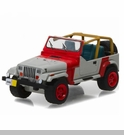 1:64 Scale 1993 Jeep Wrangler YJ - Red and Grey (Hobby Exclusives)