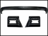 3 Piece Body Armor Kit for Jeep TJ and LJ (1997-2006), Black