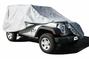Car Cover 4 Layer for Jeep Wrangler 2 Door 2007-2017 Gray