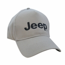 5 Panel Gray Embroidered Jeep Hat