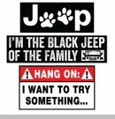 Jeep Stickers & Decals