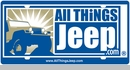 All Things Jeep License Plate