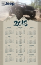 All Things Jeep Magnet Calendar 2018