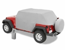 All Weather Trail Cover Jeep Wrangler JK 4D 2007-2017 Gray by Bestop