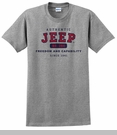 Authentic Jeep� T-Shirt - Grey