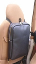 Back Trail Outfitters' Stow Away Bag, Black Leather, Remove & Carry