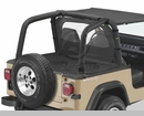 Bestop Sport Bar Covers, for Jeep® Wrangler, 1992-1995