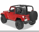 Bestop Sport Bar Covers, for Jeep® Wrangler, 2 Door 2007-2009