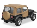 Bestop Supertop Softop for Jeep CJ7 & YJ