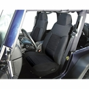 Black Fabric Front Seat Covers for Jeep Wrangler TJ (2003-2006)