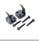 Black Front Tow Hooks - Jeep Wrangler TJ, LJ Unlimited 1997-2006